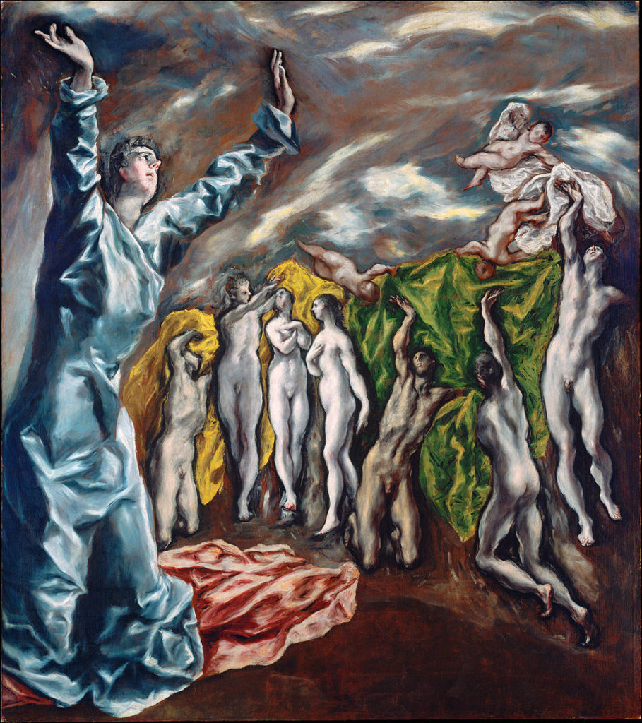 The Vision of Saint John by El Greco (1608-1614)