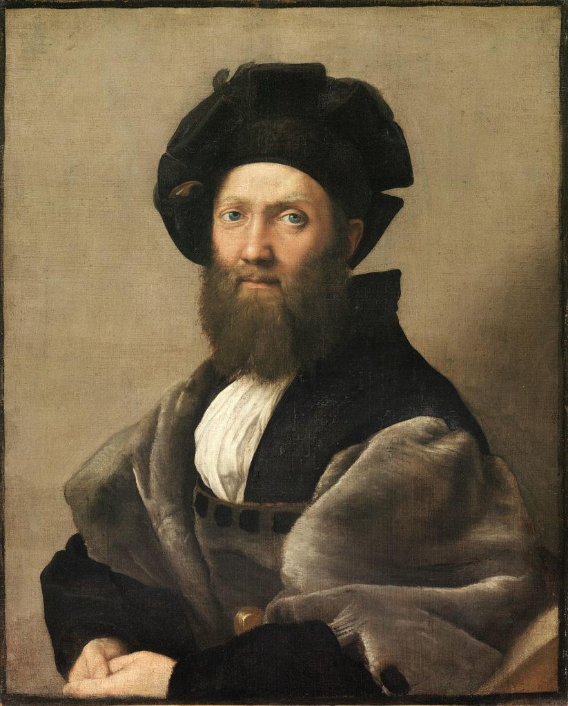 Portrait of Baldassare Castiglione by Raphael Sanzio (1514–1515)