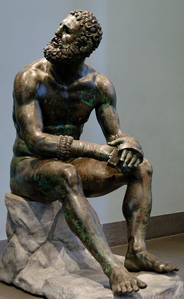 Boxer at Rest - Roman - (330 to 50 BCE)