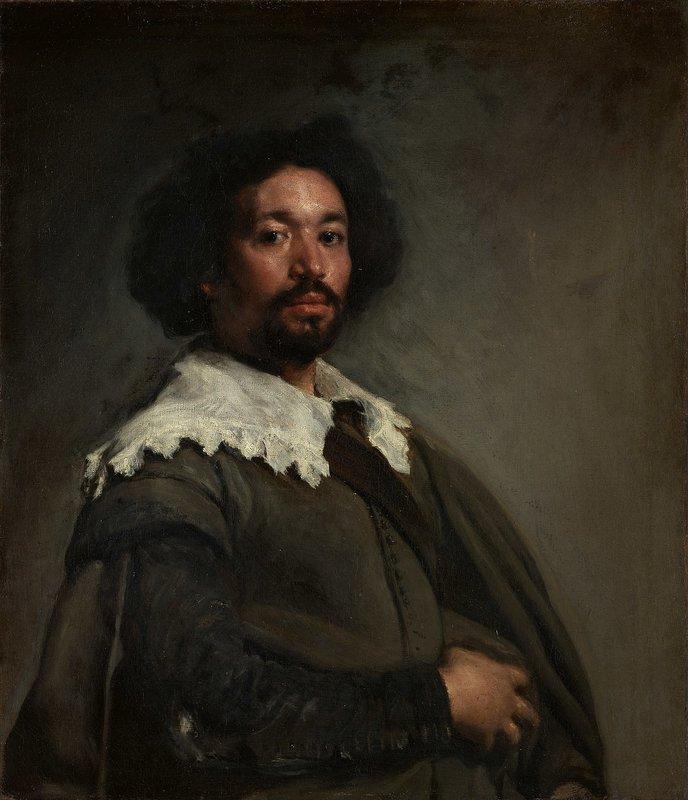 Portrait of Juan De Pareja By Diego Velázquez (1650)